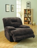 Homelegance Geoffrey Chocolate Glider Reclining Chair Available Online in Dallas Fort Worth Texas