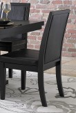 Homelegance Cicero Black Side Chair Available Online in Dallas Fort Worth Texas