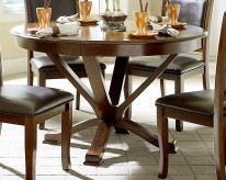 Helena Dark Brown Dining Table Available Online in Dallas Fort Worth Texas