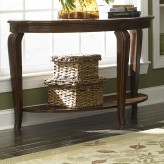 Homelegance Schiffer Cherry Sofa Table Available Online in Dallas Fort Worth Texas