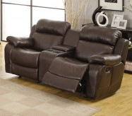Marille Brown Reclining Loveseat Available Online in Dallas Fort Worth Texas