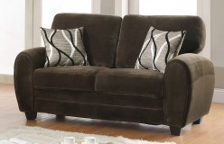 Rubin Chocolate Loveseat Available Online in Dallas Fort Worth Texas