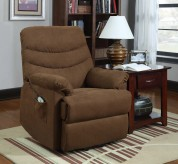 Homelegance Elevated Brown Power Lift Chair Recliner Available Online in Dallas Fort Worth Texas
