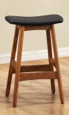 Homelegance Saddle Black Counter Height Stool Available Online in Dallas Fort Worth Texas