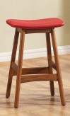 Homelegance Saddle Red Counter Height Stool Available Online in Dallas Fort Worth Texas
