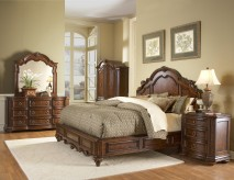Prenzo Queen 5pc Bedroom Set Available Online in Dallas Fort Worth Texas