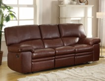 Homelegance Kendrick Brown Double Recliner Sofa Available Online in Dallas Fort Worth Texas