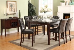 Decatur 7pc Counter Height Dining Room Set Available Online in Dallas Fort Worth Texas