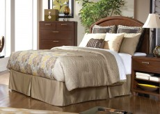 Beaumont Brown Cherry Queen/Full Headboard Available Online in Dallas Fort Worth Texas