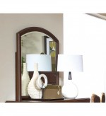 Beaumont Brown Cherry Mirror Available Online in Dallas Fort Worth Texas