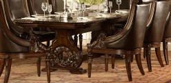 Homelegance Orleans Trestle Dining Table Available Online in Dallas Fort Worth Texas