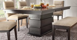 Homelegance Tanager Dark Espresso Dining Table Available Online in Dallas Fort Worth Texas