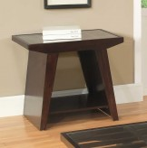 Homelegance Cullum Dark Espresso End Table Available Online in Dallas Fort Worth Texas
