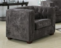 Coaster Alexis Charcoal Chair Available Online in Dallas Fort Worth Texas