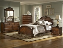Legacy Cherry 5pc Full Bedroom Set Available Online in Dallas Fort Worth Texas