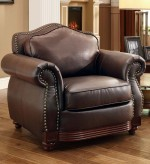 Homelegance Midwood Brown Chair Available Online in Dallas Fort Worth Texas