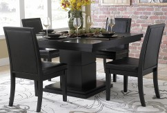 Homelegance Cicero 5pc Black Dining Table Set Available Online in Dallas Fort Worth Texas