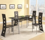 Coaster Fontana 5pc Dining Table Set Available Online in Dallas Fort Worth Texas