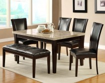 Homelegance Hahn 6pc Espresso Dining Table Set Available Online in Dallas Fort Worth Texas