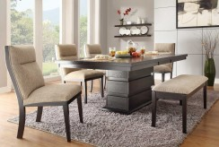 Homelegance Tanager 6pc Dark Espresso Dining Table Set Available Online in Dallas Fort Worth Texas