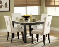 Homelegance Archstone 5pc White Square Dining Table Set Available Online in Dallas Fort Worth Texas