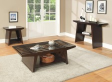 Homelegance Cullum 3pc Dark Espresso Coffee Table Set Available Online in Dallas Fort Worth Texas