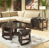 Brussel Glass Top 3pc Coffee Table Set Available Online in Dallas Fort Worth Texas