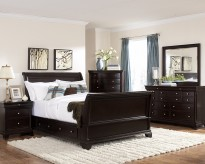 Homelegance Inglewood King 5pc Sleigh Storage Bedroom Group Available Online in Dallas Fort Worth Texas