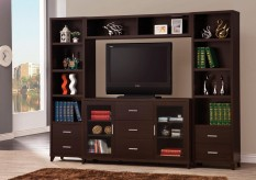 Coaster Monroe 4pc Wall Unit Available Online in Dallas Fort Worth Texas