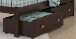 Cappuccino Under Bed Storage Available Online in Dallas Fort Worth Texas