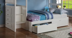Donco White Under Bed Storage Available Online in Dallas Fort Worth Texas