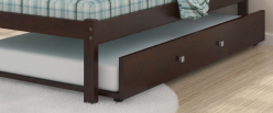 Donco Cappuccino Trundle Bed Available Online in Dallas Fort Worth Texas