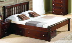 Contempo Cappuccino Full Bed Available Online in Dallas Fort Worth Texas