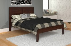 Donco Cappuccino Full Panel Bed Available Online in Dallas Fort Worth Texas