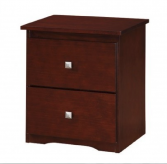 Cappuccino Night Stand Available Online in Dallas Texas