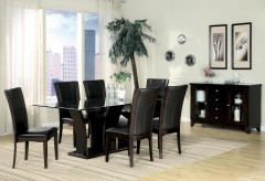 Homelegance Daisy 7pc Dark Brown 72