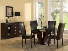 Homelegance Daisy 5pc Dark Brown 54