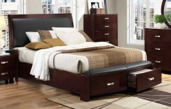 Lyric Espresso Queen Bed Available Online in Dallas Fort Worth Texas