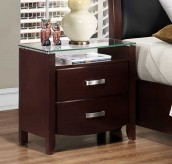 Lyric Espresso Night Stand Available Online in Dallas Fort Worth Texas