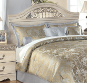 Catalina Queen / Full Panel Headboard Available Online in Dallas Fort Worth Texas