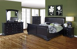 New Classic Maryhill King 5pc Sleigh Bedroom Group Available Online in Dallas Fort Worth Texas