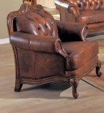 Coaster Victoria Leather Chair Available Online in Dallas Fort Worth Texas
