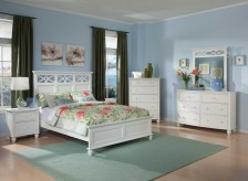 Sanibel White Full 5pc Youth Bedroom Group Available Online in Dallas Fort Worth Texas