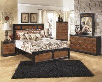 Aimwell 5pc Queen Panel Bedroom Group Available Online in Dallas Fort Worth Texas