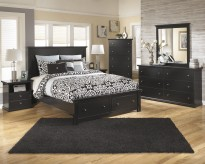 Ashley Maribel 5pc Queen Platform Storage Bedroom Group Available Online in Dallas Fort Worth Texas