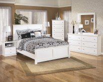 Bostwick Shoals 5pc Queen Panel Bedroom Group Available Online in Dallas Fort Worth Texas