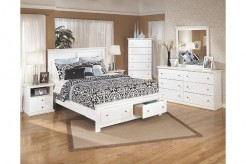 Ashley Bostwick Shoals 5pc Queen Platform Storage Bedroom Group Available Online in Dallas Fort Worth Texas
