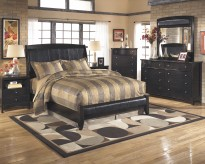 Ashley Harmony 5pc King Sleigh Bedroom Group Available Online in Dallas Fort Worth Texas