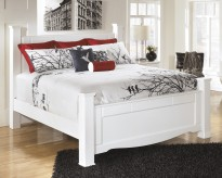 Ashley Weeki King Poster Bed Available Online in Dallas Fort Worth Texas