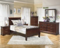 Alisdair 5pc Twin Sleigh Bedroom Group Available Online in Dallas Fort Worth Texas
